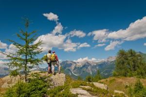 Das Bergpanorama genießen, Foto: Lesachtal Franz Gerdl