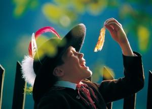 Den Star des Speckfests verkosten, Copyright: Kärnten Werbung, Abdruck  honorarfrei