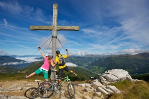 Mit dem Bike zum Gipfel (c) Nockbike