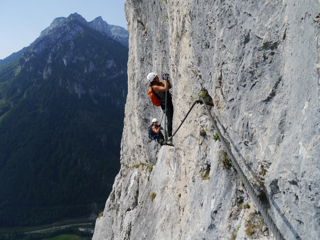 Klettersteig Leopoldsteinersee : Erlebnisregion erzberg: wo sich outdoorfans den adrenalinkick holen