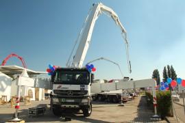 CEMEX Austria: Großraumpumpe – Einweihung in der CEMEX-Zentrale (c) CEMEX Austria GmbH
