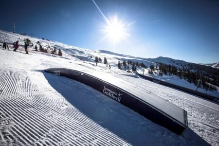 Action im Snowpark Goldeck (c) Roland Haschka, QParks