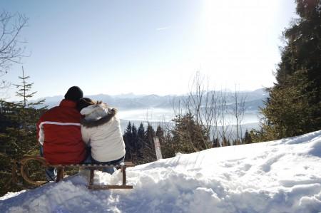 Den zweit den ersten Schnee am Millstätter See genießen (c) steve.haider.com