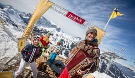 Das Nassfeld Kino öffnet den Blick für die dramatische Bergwelt