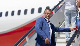 Mancher Fluggast steigt mit Unbehagen ein
