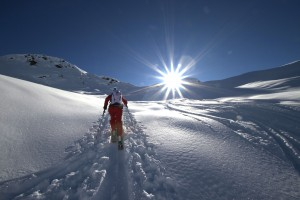 Beschauliche Skitouren durch den Naturschnee, Foto: Nassfeld-Lesachtal-Weissensee