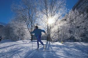 Durch die glitzernde Winterlandschaft gleiten im Lesachtal, Foto: Nassfeld- Lesachtal-Weissensee