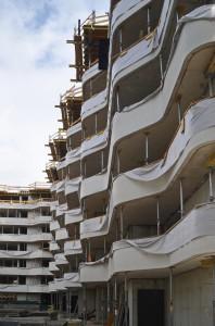 Neue  Sillblock in Innsbruck: Die thermische Trennung der Balkone erfolgte mit dem Schöck Isokorb® (c) Gassner & Hluma