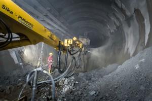 Großprojekt Koralmtunnel: CEMEX liefert 530.000 m³ Beton (c) CEMEX/Abdruck honorarfrei