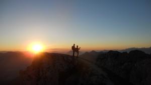 Der Sonne entgegen (c) Nassfeld-Pressegger See, Abdruck honorarfrei