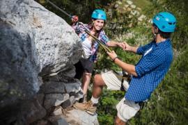 Klettertouren auf gesicherten Steigen (c) nassfeld.at