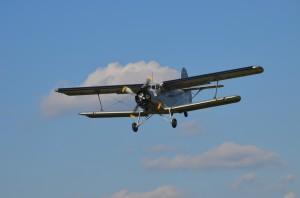 Die behäbige Antonov auf Höhenflug (c) Gassner & Hluma Communications, Abdruck honorarfrei