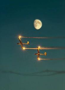 So schön kann fliegen sein (c) Christian Klar, Abdruck honorarfrei