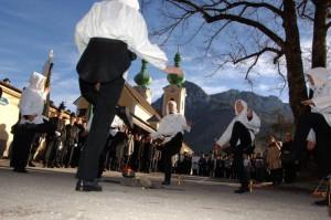 Bergmännisches Brauchtum bei der Barbarafeier erleben Copyright: TRV HOCHsteiermark,