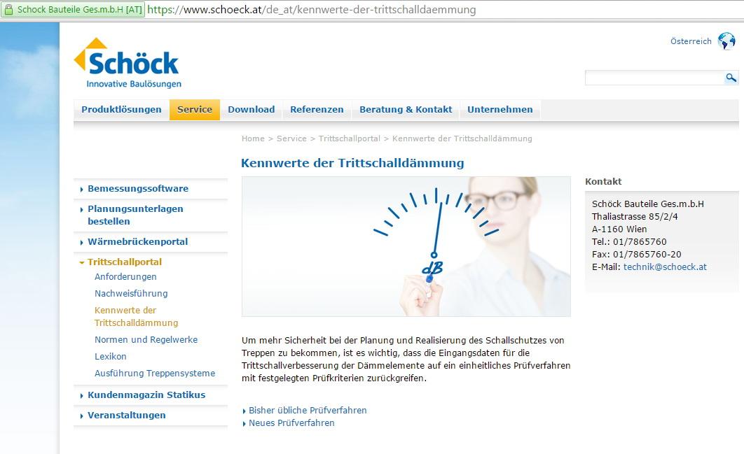 Trittschallportal 1_(c) Schöck